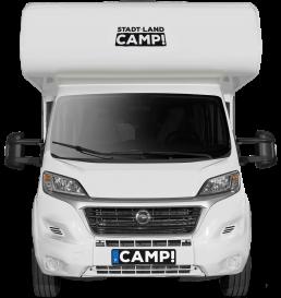 Stadt Land Camp Wohnmobil Familien- & Freundebändiger von vorne