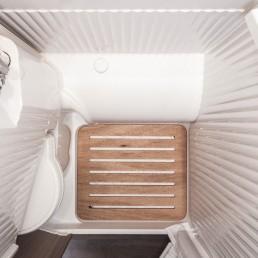 Die Dusche im Wohnmobil