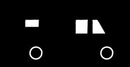 Stadt Land Camp Logo Schmuckelement Womo ohne Name