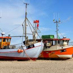 Dänemark - Fischerboote