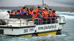 Jokulsarlon Eissee in Island
