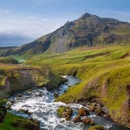 Island - verschwenderische Naturschönheit