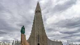 Island - Hallgrimskirche in Reykjavik