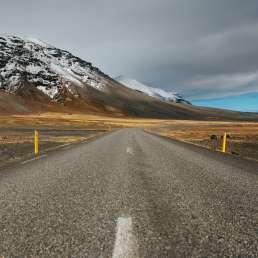 On the road in Island - sich mit jedem Kilometer belohnen
