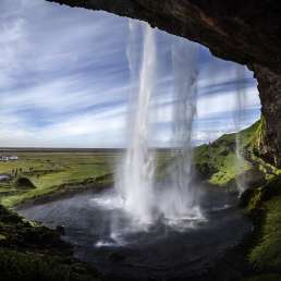 Seljalandsfoss Wasserfall in Island