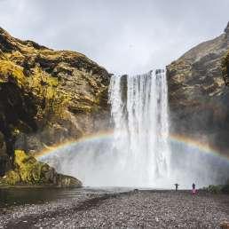 Islands Wasserfälle - fast zu kitschig, um wahr zu sein