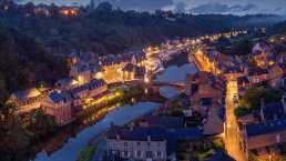 das mittelalterliche Dinan in der Bretagne