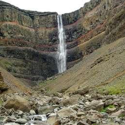 Hengifoss Wasserfall