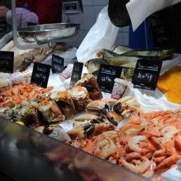 Fischmarkt in La Rochelle