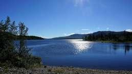 Laponia National Park im Norden Schwedens