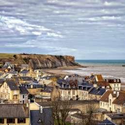 Arromanches-les-Bains in der Normandie