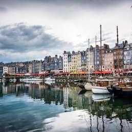 Honfleur in der Normandie