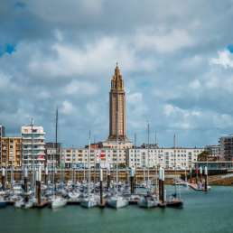 Le Havre in der Normandie