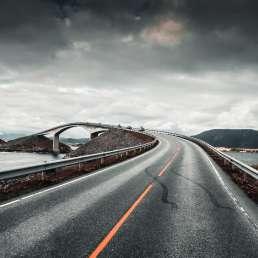 Lofoten Brücke in Norwegen