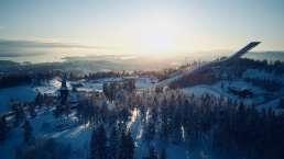 Holmenkollen Skisprungschanze in Oslo