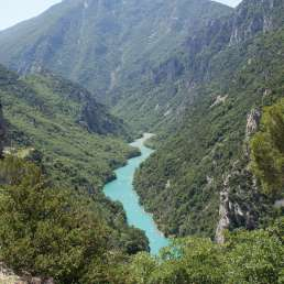 Gorges de Verdon in der Provence