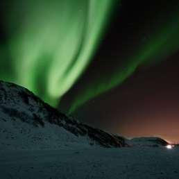 Aurora Borealis in Norwegen