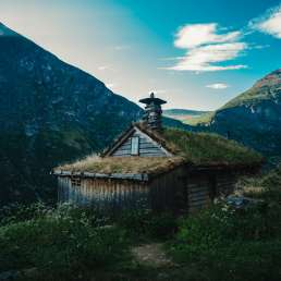 Hütte in Norwegen