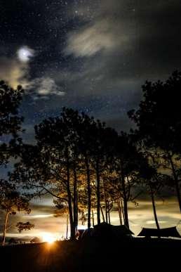 Zelten unterm Sternenhimmel