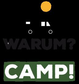 Das ist das Logo von Stadt Land Camp! mit dem Zusatz