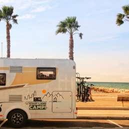 WOW-mobil im Beach Modus