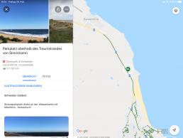 Aus der persönlichen Map heraus direkt die Google Maps Navigation zum Ziel starten