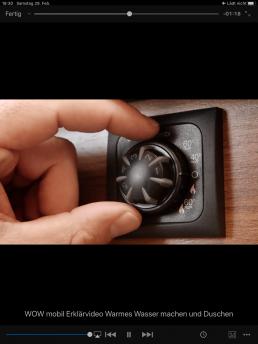 Erklärvideos - Video zur Bedienung der Heizung