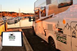 Unser Stadt Land Camp Tour iPad