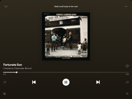 Entertainment - Spotify Song aus Playlist Stadt Land Camp! on the road