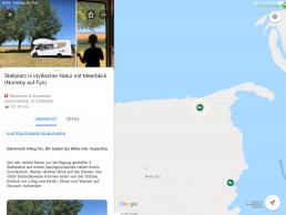 Vorstellung und Beschreibung der Stellplätze in der persönlichen Map