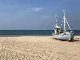 Natur-Camping Blogpost - Fliegendes Boot am Thorup Strand in Dänemark