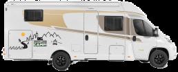 Wohnmobil Zwei-Mann-Zelt Beifahrerseite