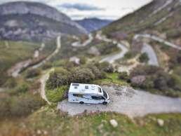 nachhaltiges Stadt Land Camp Wohnmobil mit Solar - autark frei stehen