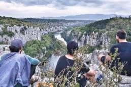 4 Jungs auf Tour in der Provence