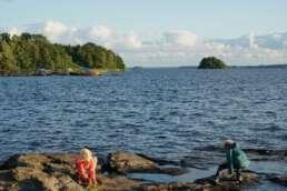 Der Bolmen See - riesig wie ein Meer