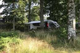 """Stellplätze inmitten der Natur auf dem Natur-Campingplatz Getnö Gard im """"Lake Åsnen Resort"""""""