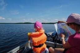 Wassersportmöglichkeiten, die begeistern auf dem Åsnen See