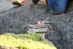 kindliches Campingglück in der schwedischen Natur