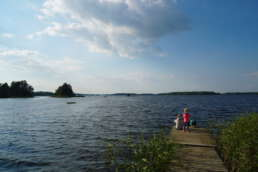 wer Entschleunigung sucht, ist richtig am Åsnen See