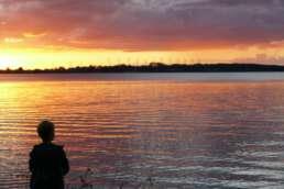 wunderschöne Sonnenuntergänge am Plauer See inklusive