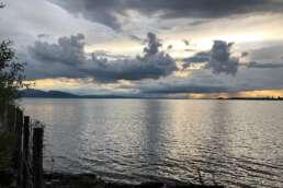 Wolkenpracht über dem Bodensee