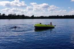 umfangreiche Wassersportmöglichkeiten auf dem Stemmer See im Campingpark Kalletal