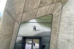 spannend in Inhalt, Aussicht und Design - das Messner Mountain Museum in Kronplatz