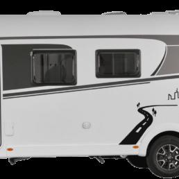 Wohnmobil die VILLA Ansicht Fahrerseite