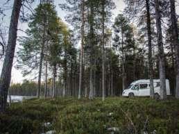 träumt davon nicht jeder Camper, der nach Schweden fährt? Stellplatz in Jokkmokk