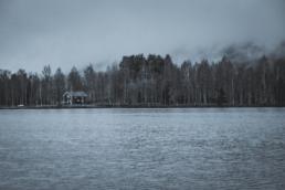 Campen im vor-winterlichen Vitsand