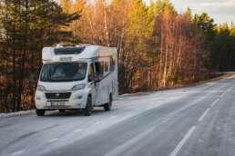 je nördlicher es in Schweden wird, umso wichtiger werden die Winterreifen auf unseren Wohnmobilen